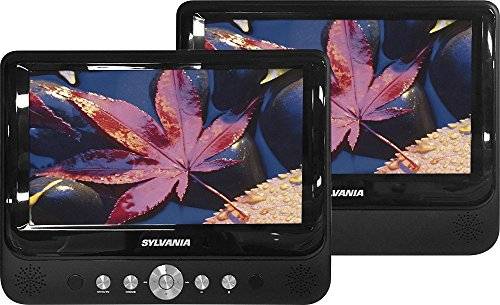 Sylvania SDVD9957 Portable DVD Player with Dual 9″ Screen (Black) (Certified Refurbished)