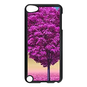 Ipod Touch 5 2D DIY Phone Back Case with Beautiful trees Image