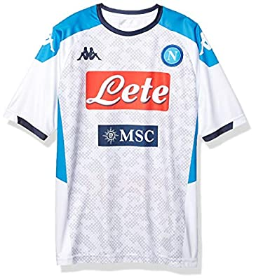 Ssc Napoli Italian Serie A Mens Replica Third Match Shirt 2019/2020