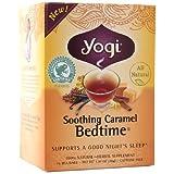 Yogi Tea Herbal Tea, Soothing Caramel Bedtime 0.07 oz (Pack of 2)