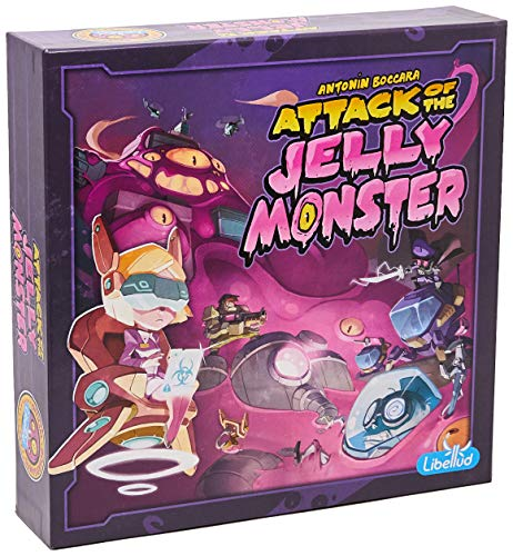 Attack Of The Jelly Monster Galápagos Jogos Diversos