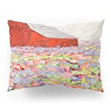 Society6 Hill Country Wildflowers Pillow Sham Standard (20'' x 26'') Set of 2