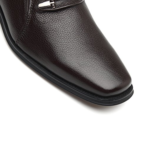 La Milano Men's Slip On Loafers Business Casual Comfortable Classic Leather Dress Shoes for Men by La Milano (Image #4)