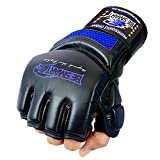 Auth. Rex Leather MMA Grappling Gloves Boxing Punch