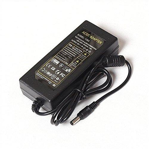 Moins de 60 W Huixing Alimentation DC 220 V-12 V 5 A 60 W avec c/âble r/épartiteur dalimentation 8 Voies pour Lampe LED Srip