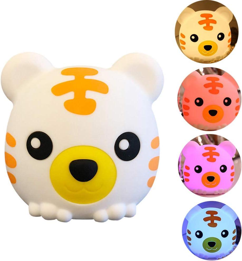 Bunny LED Nursery Night Lights Cute Animal Silicone Baby Night Light Kids Gift