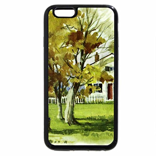 iPhone 6S / iPhone 6 Case (Black) Friendly Bench 1
