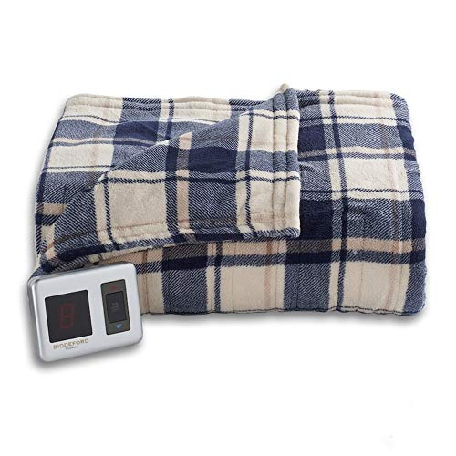 Biddeford MicroPlush Full Electric Blanket with Controller,