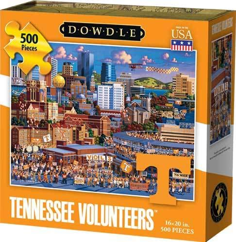 Dowdle Jigsaw Puzzle - Tennessee Volunteers - 500 Piece