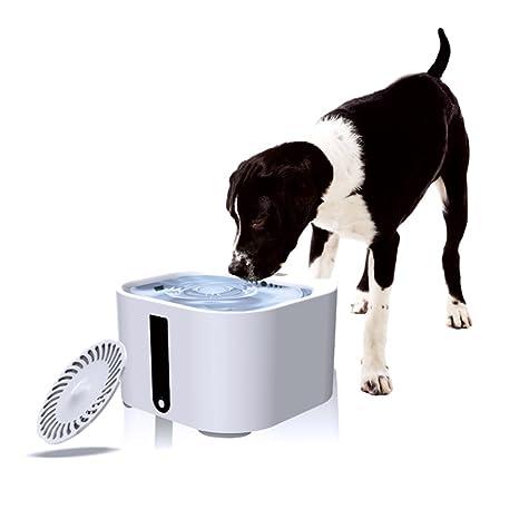 Mlec tech Bebedero Automático Perro Gatos Fuente Agua Gatos Mascota Bomba Silenciosa 2L 3 Modos con