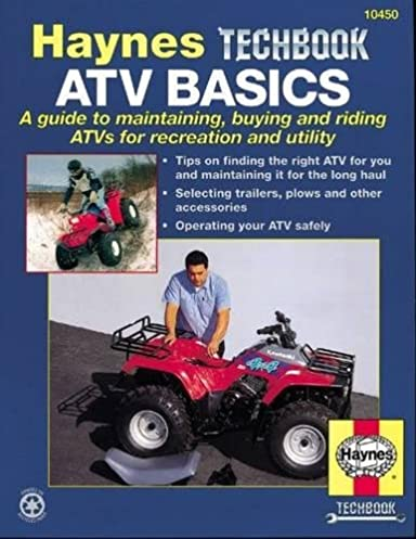 atv basics manual techbook manual haynes repair manuals john rh amazon com atv repair gulfport ms Snowmobile Repair