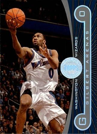 Amazon.com  2005 Topps First Row Basketball Card (2005-06)  15 Gilbert  Arenas Near Mint Mint  Collectibles   Fine Art dd273ac8e