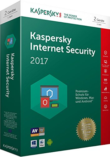 Kaspersky Internet Security 2017 2 Geräte Limited Edition (Code in a Box)