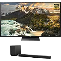 Sony XBR-65Z9D - 65-inch 4K Ultra HD LED TV w/ Sony HT-ST5000 7.1.2ch 800W Dolby Atmos Sound Bar