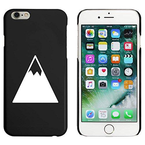 Schwarz 'Schnee Berg' Hülle für iPhone 6 u. 6s (MC00043809)