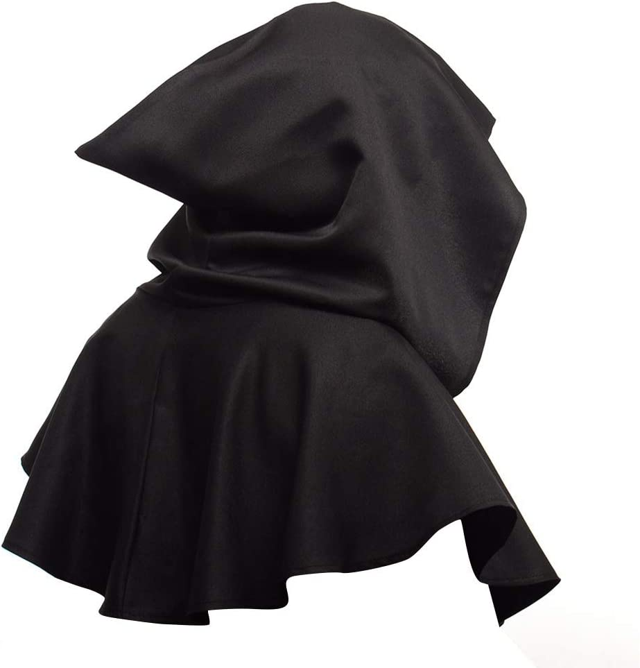 One Size fits for Kids//Adults//Teenages Unisex Hooded Cape Short Cloak Shawl Christmas Halloween Fancy Dress Witch Cosplay Costumes