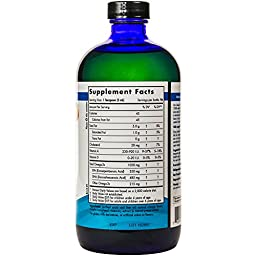 Nordic Naturals - Arctic CLO, Heart and Brain Health, and Optimal Wellness, Orange 16 Ounces