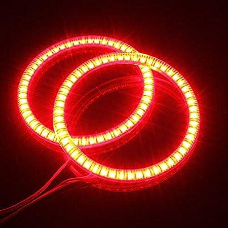 Light Ring 94mm Car 51 LED SMD Light Angel Eye Halo Ring Lamp Bulb for BMW