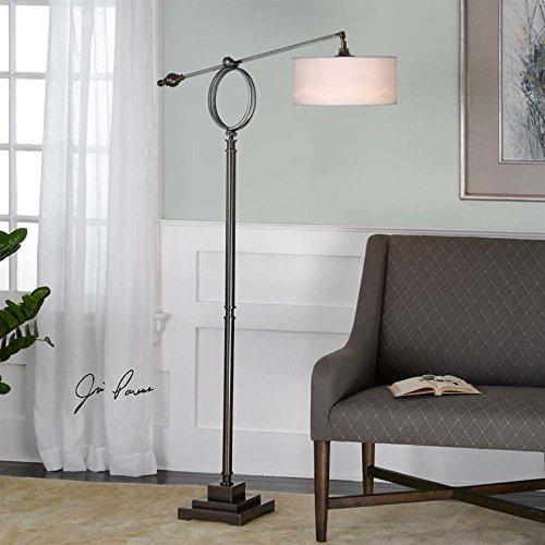 Uttermost Levisa Floor Lamp (Club Adjustable Lamp Floor)