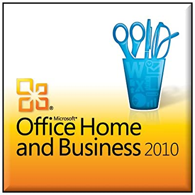 1000% Genuine Microsoft Office 2010 Home & Business 32 / 64 Bit Media Software with a Key Coa One Pc One User 1pc /1user