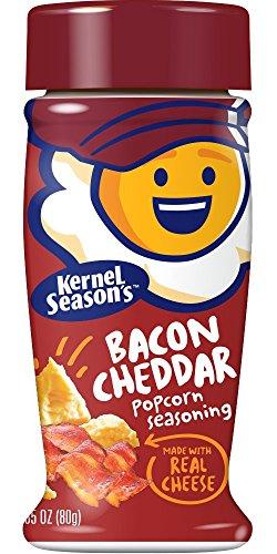 Kernel Seasons Popcorn Seasoning, Bacon Cheddar, 2.85 Ounce (Pack of 6)