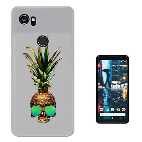 c01206 - Pineapple Sugar Skull Cool Sunglasses Design Google Pixel 2 XL 6.0