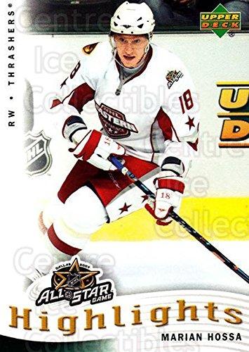 (CI) Marian Hossa Hockey Card 2007-08 Upper Deck AS Highlights 12 Marian (08 Upper Deck Ice)