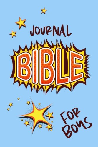 Journal Bible For Boys: Blank Prayer Journal