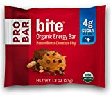 Cheap PROBAR – bite Organic Energy Bar – Peanut Butter Chocolate Chip – USDA Organic, Gluten-Free, Non-GMO Project Verified, Plant-Based Whole Food Ingredients, 4g Protein – Pack of 12