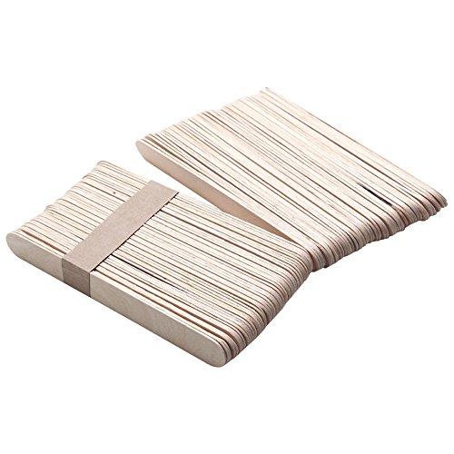 super1798 50Pcs Disposable Wax Waxing Applicator Body Hair Removal Wooden Sticks Spatula