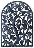 Le Primitif Galleries Haitian Recycled Steel Oil Drum Outdoor Decor, 24 by 35-Inch, Arch