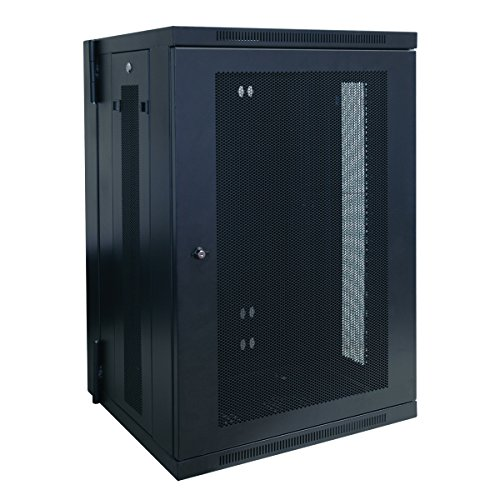 Tripp Lite 18U Wall Mount Rack Enclosure Server Cabinet, Hinged, 20.5