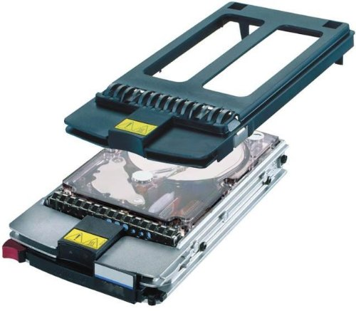 HP KW36J01 36.4GB 'hot swap' Ultra3 SCSI hard drive module - 10000 RPM, low