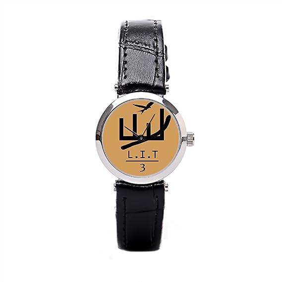 x-christy oro l.i.t moda muñeca relojes