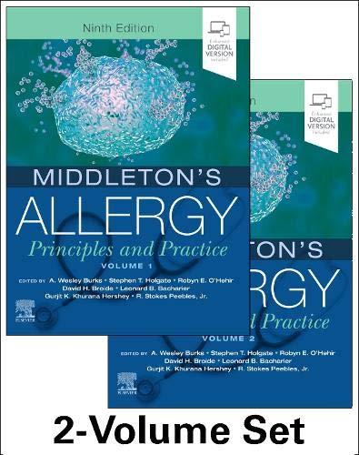 Middleton's Allergy 2-Volume Set: Principles and Practice (Middletons Allergy Principles and Practic - http://medicalbooks.filipinodoctors.org