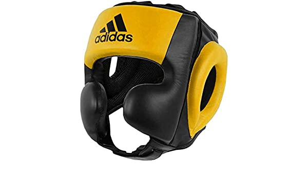 13a8fc14b1412 Amazon.com : adidas PRO Head Guard Boxing/MMA 100% Cow Leather ...