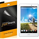 [3-Pack] SUPERSHIELDZ- High Definition Clear Screen Protector For Acer Iconia Tab 8 A1-840 / A1-850 + Lifetime Replacements Warranty- Retail Packaging
