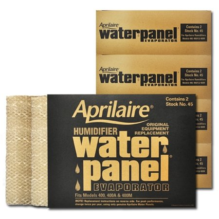 Aprilaire 45 Water Panel 10 Pack for Humidifier Model 400