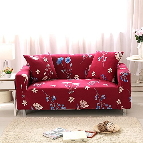 FORCHEER Couch Covers 1/2/3/4 Seater Sofa Slipcover Stretch Arm Chair Loveseat Sofa Cover Couch Furniture Protector (Big Sofa, Style #1)