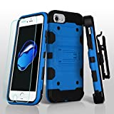 Asmyna Cell Case for Apple IPhone 7 - Blue/Black