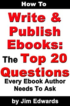 how to write an ebook amazon