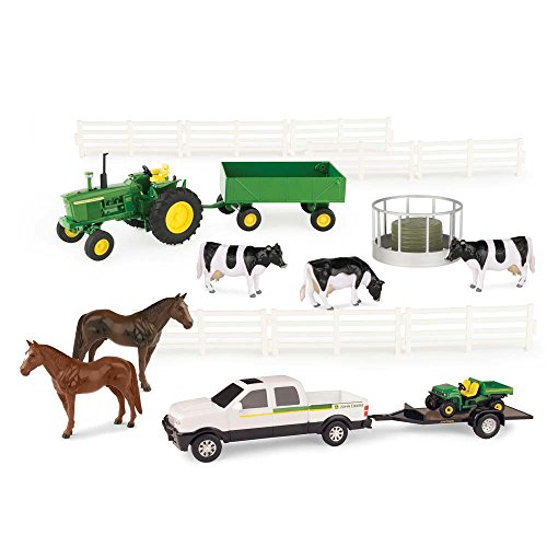 Diecast Deere Tractor John (John Deere 1:32 Scale 20 Piece Value Set)