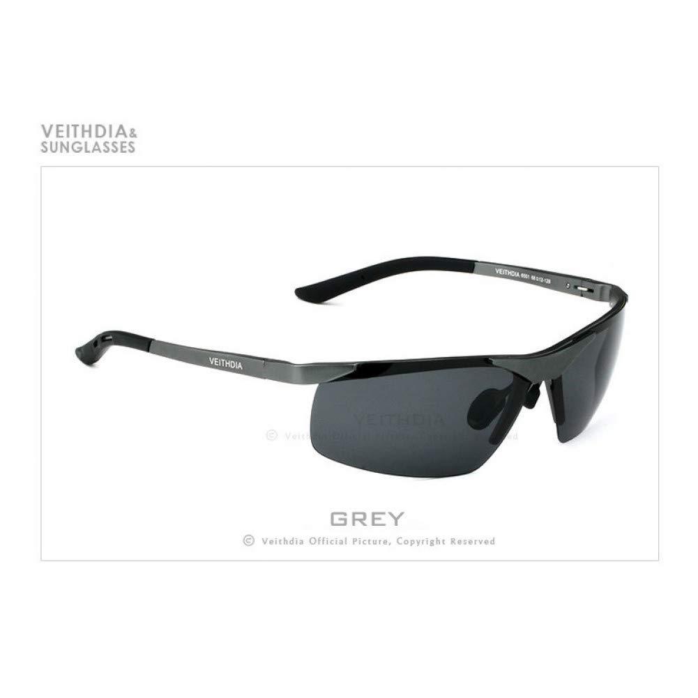 Lkhjサングラスメンズ偏光uv400ミラーサングラスリムレス長方形メンズサングラスメガネ用男性6501   B07S2QG33H