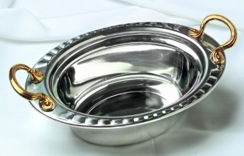 Stainless Steel Soup Tureen with round handles