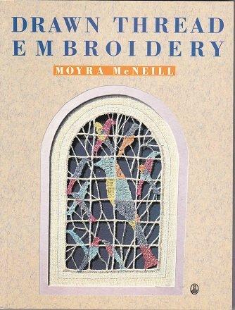 Drawn Thread Embroidery (An Owl (Drawn Thread Embroidery)