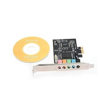 Kaemma PCI-E PCI Express 6 Canales 5.1 CMI8738 Audio Tarjeta ...