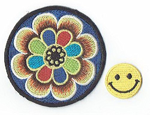 Tiny Embroidered Flowers -