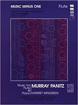 Music Minus One Flute: Beginning Flute Solos, Vol. I (Book & CD) by Murray Panitz (1995-01-01)