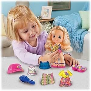 Amazon Com Snap N Style Doll Alexa Toys Amp Games