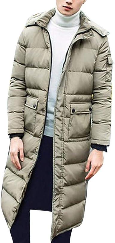 NINGSANJIN Doudoune Femmes Hiver Blouson Hommes Long Hooded Usure Chaude Parka Manteau Coton Rembourré Long Pardessus Mateaux Manche Longue Mateau